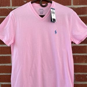 NWT Polo by Ralph Lauren Vneck T-shirt Small